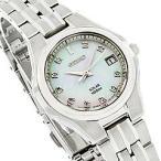 SEIKO(セイコー) SOLAR/ソーラー SUT051 パール MOP/ダイアモンド ステンレスベルト レディースウォッチ 腕時計