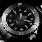 DEEP BLUE (ディープブルー) MDAUTO-GY MASTER DIVER 1000FT(330M)防水 ダイバーズ Miyota 9015 自動巻き クールグレーダイアル 腕時計