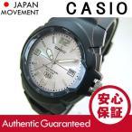 CASIO(カシオ) MW-600F-7A/MW600F-7A ベーシック アナログ ブラック×シルバー メンズウォッチ チープカシオ 腕時計 【あすつく】