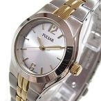 SEIKO PULSAR (セイコー パルサー) PTC460 ゴールド×シルバー メタルベルト スリム レディースウォッチ 腕時計 【あすつく】