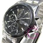 SEIKO (セイコー) SND367PC クロノグラフ ブラック メンズウォッチ 腕時計 【あすつく】