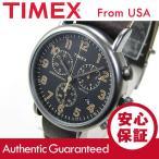Timex (タイメックス) TW2P85400 Weekender Vintage Chrono/ウィークエンダー ヴィンテージ クロノ クロノグラフ レザーベルト メンズウォッチ 腕時計