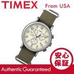 Timex (タイメックス) TW2P85500 Weekender Vintage Chrono/ウィークエンダー ヴィンテージ クロノ クロノグラフ ナイロンベルト メンズウォッチ 腕時計