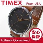 Timex (タイメックス) TW2P97900 Weekender Fairfield /ウィークエンダー フェアフィールド 41mm ブラウン メンズウォッチ 腕時計