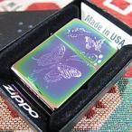 ZIPPO(ジッポー)28442 Butterfly Spectrum/スペクトラム 蝶/チョウ 虹色 FULL SIZE ZIPPO LIGHTER/ジッポライター【あすつく】