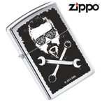 ZIPPO(ジッポー) 29056 GAS MONKEY GARAGE/ガスモンキーガレージ High Polish Chrome/ハイポリッシュ FULL SIZE ZIPPO LIGHTER/ジッポライター