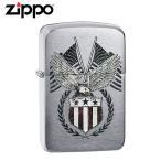 ZIPPO(ジッポー) 29093 US Flag-Eagle 1941 Replica/1941年復刻版 ブラッシュ/つや消し FULL SIZE ZIPPO LIGHTER/ジッポライター 【あすつく】