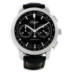 グラスヒュッテ・オリジナル Glashutte Original Senator クロノグラフ 39-34-20-42-04 中古 腕時計