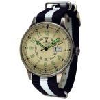 Aeromatic191 2エアロマティック1912 クォーツ 腕時計 メンズ A1254SW 43mm 文字盤ベージュ(薄茶)