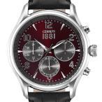 ショッピング文字盤カラー CERRUTI 1881 チェルッティ1881電池式クォーツ 腕時計 メンズ CRA107SN10BK 44mm文字盤レッド(赤) 並行輸入品