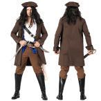 ジャック スパロウ 海賊 コスプレ 衣装 コスチューム メンズ 男性 パイレーツ オブ カリビアン 大人