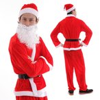 ショッピングコスプレ サンタ コスプレ サンタコス サンタクロース 衣装 コスチューム メンズ
