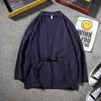 和服 メンズ 夏服 フード付き おしゃれ 大きいサイズ カットソートップス Tシャツ 半袖 ゆったり カジュアル プルオーバー パーカー 無地 七分袖 インナー