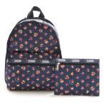 ショッピングLESPORTSAC レスポートサック 7812-D542 Basic Backpack Spring Dreams リュックサック