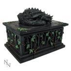 ドラゴンタロットカードボックスDragon Tarot Card Box 18cm All Premium Dragons ネメシス・ナウ nemesis now/ NOW102