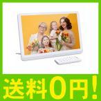 10 インチ デジタルフォトフレーム 1920*1080 解像度 IPS視野角 高解像度 LCD バックライト 多 機能 自動 再生 画像 フレーム
