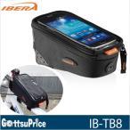 【あすつく】イベラ 自転車トップチューブバック IB-TB8 スマホ収納可能  ge1212