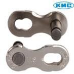 【在庫あり】KMC(ケーエムシー)11速用 ミッシングリンク(CL555)シルバー シマノシマノ/カンパ対応 (1個売り)