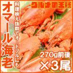 オマール海老 ロブスター 3尾 (BBQ バーベキュー)