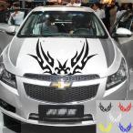 ショッピング車 車 ステッカー 2枚セット カッティングステッカー デカール シール 反射シート 蛍光ステッカー アメリカン セーフティーサイン 送料無料