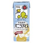豆乳飲料 バニラアイス 200ml×18本 紙パック
