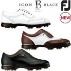 フットジョイ FOOTJOY  FJアイコンブラック FJ ICON Black ゴルフシューズ