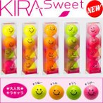 キャスコ KIRA Sweet キラキャラ ボール 1スリーブ(4個入り)