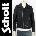 Schott ショット コットン ライダース ジャケット SCHOTT COTTON DOUBLE RIDERS JACKET 3162000-09