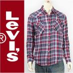 Levi's リーバイス バーストゥー ウェスタンシャツ ゲールレッドチェック Levi's Shirt 65816-0167 長袖