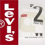 Levi's リーバイス パックティー 2パック(2枚組) 半袖クルーネックTシャツ ホワイト×ホワイト Levi's Pack Tee 66547-0001