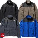 フリースとナイロン素材を使用したジャケット