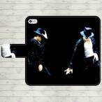 マイケルジャクソン 手帳型 スマホケース iPhone7 iPhone6s Plus Xperia 全機種対応