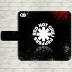 レッドホットチリペッパーズ 手帳型 スマホケース iPhone7 iPhone6s Plus Xperia 全機種対応