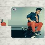 ブルーノマーズ 手帳型 スマホケース iPhone7 iPhone6s Plus Xperia 全機種対応
