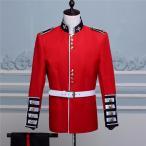 【サイズ有XS/S/M/L】演出服 華麗な王族服 王子様 イギリス風 復古風 コスプレ衣装 将軍様衣装 ダンスパーティ定番 貴族服装 4点セットda166c0c0m2
