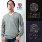 フランクリンマーシャル ニット メンズ Vネック セーター FRANKLIN&MARSHALL