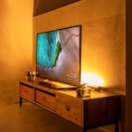 間接照明 おしゃれ 寝室 リビング 北欧 スタンド LED リモコン フロアライト フロアランプ シアターライト MANX マンクス