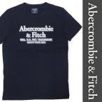 新品 Abercrombie & Fitch S/S T-SHIRT アバクロンビー&フィッチ 半袖 Tシャツ ブラック メンズ レディース カットソー ムース 正規品 (D0919-AFT0002)
