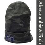 新品 Abercrombie & Fitch KNIT CAP アバクロンビー&フィッチ ニットキャップ ビーニー カモフラ グリーン 帽子 ぼうし アバクロ 正規品 (K1219-AFG0001)
