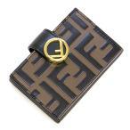 フェンディ FENDI カードケース F IS FENDI エフ イズ フェンディ MAYA+NERO ブラウン/ブラック 8M0301 A659 F13VK