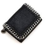 ステラマッカートニー STELLA McCARTNEY 3つ折り財布(小銭入れ付き) TRIFOLD FALABELLA BLACK ブラック 521371 W9132 1000 PD