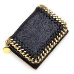 ステラマッカートニー STELLA McCARTNEY 3つ折り財布(小銭入れ付き) TRIFOLD FALABELLA BLACK ブラック 521371 W9355 1000 PD