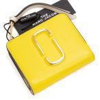 マークジェイコブス MARC JACOBS 2つ折り財布 プランタンマルチ Snapshot Mini Compact Wallet M0013360 756 PLANTAIN MULTI