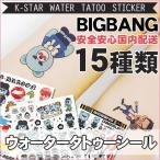 クロネコDM便【国内発送】ビッグバン(BIGBANG)タトゥー ウォータータトゥーシール