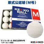 ナガセケンコー KENKO 試合球 軟式 ボール M号 M-NEW