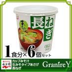 あさげ みそ汁 永谷園 カップみそ汁生みそタイプあさげ 長ねぎ 1食分(24.3g)×6個セッ...