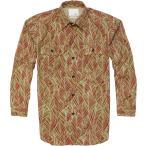 ショッピングmiddle TONY TAIZSUN LAULEA MIDDLE SLEEVE SHIRTS ORANGE シャツ トニータイズサン ボタニカル柄 7分袖