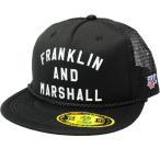 フランクリンマーシャル  F&Mアーチロゴ キャップ BLACK FRANKLIN&MARSHALL