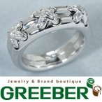 ショーメ リング 指輪 ダイヤ ダイヤモンド リアン クロス K18WG 9号 BLJ 超大幅値下げ品