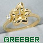 ショーメ リング 指輪 ダイヤ ダイヤモンド フラワーモチーフ 11.5号 K18YG BLJ